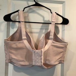 Cacique Intimates & Sleepwear - Cacique light pink lace push up bra 40H